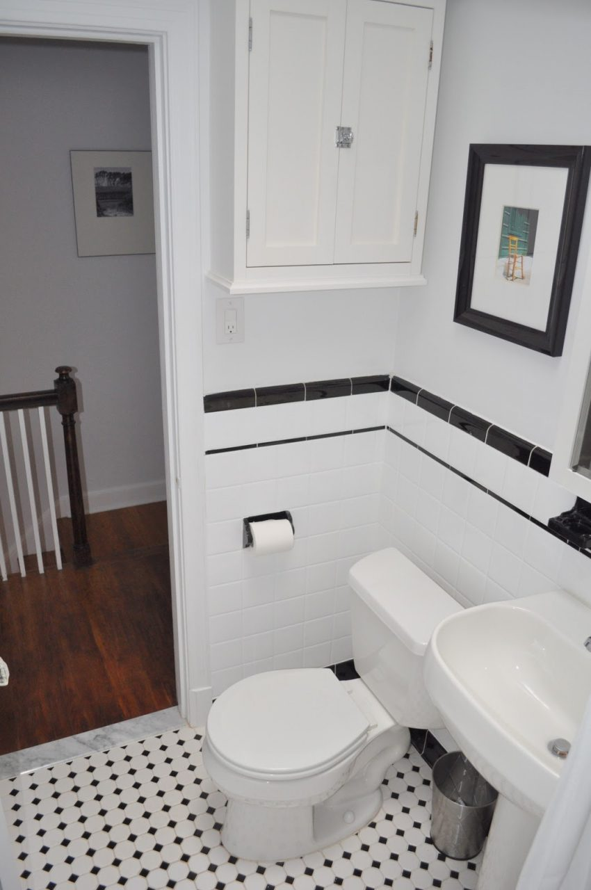 Vintage Black And White Bathroom Ideas Aricherlife Home Decor