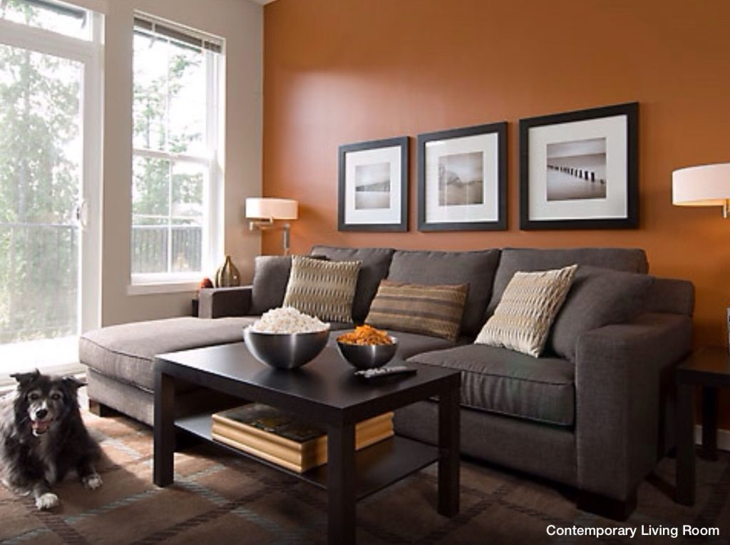 Wall Accent Color Wall Colors That Work Living Room Orange