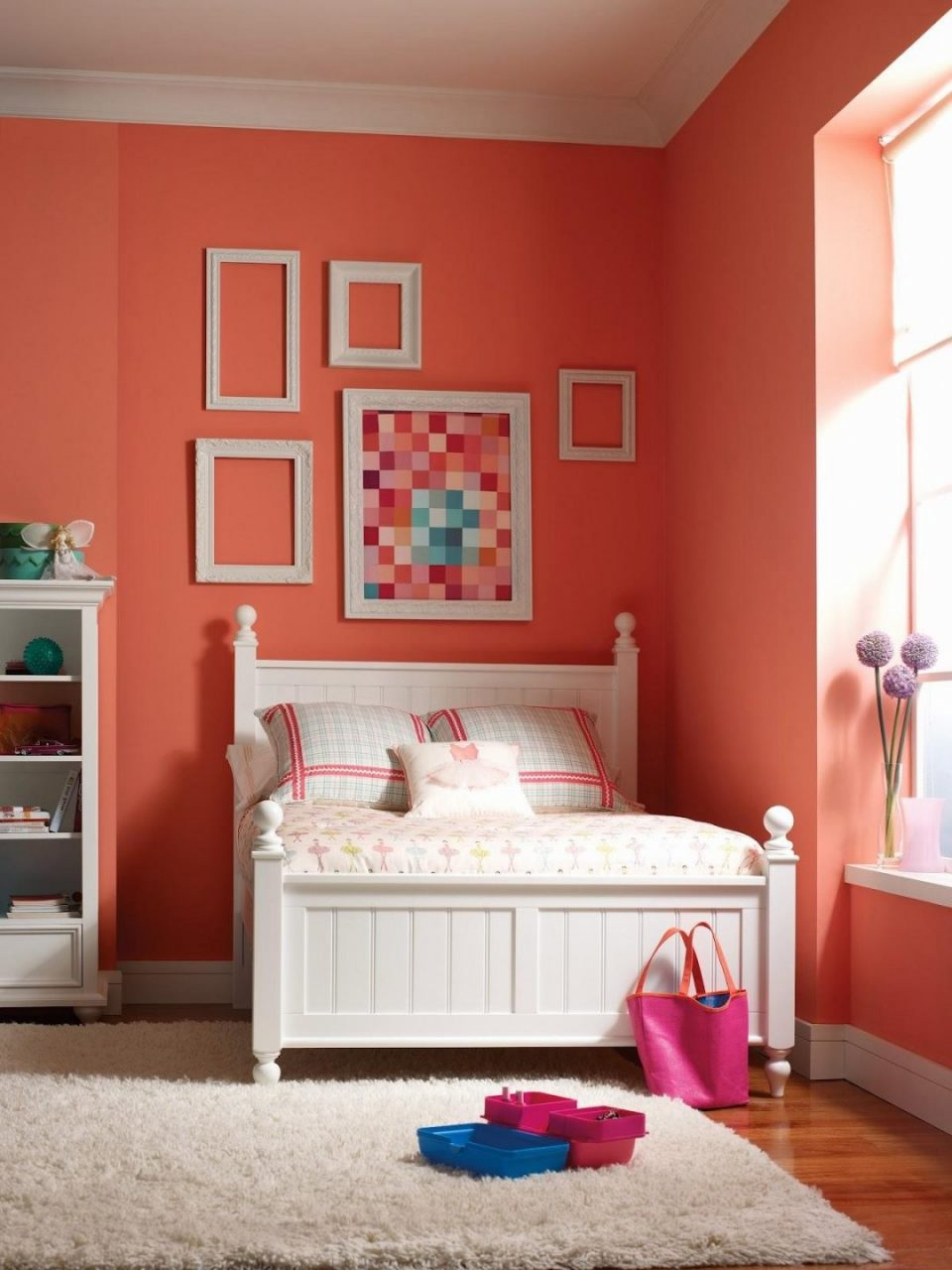 Wall Colour Combination For Small Bedroom Ideas Bright Paint Colors