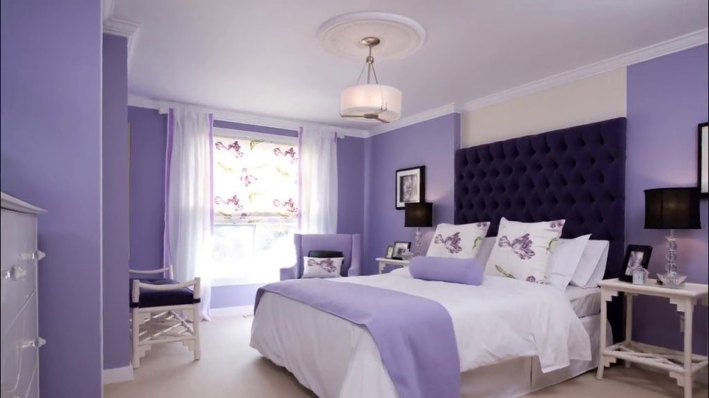 Wall Colour Combination For Small Bedroom Indian Youtube
