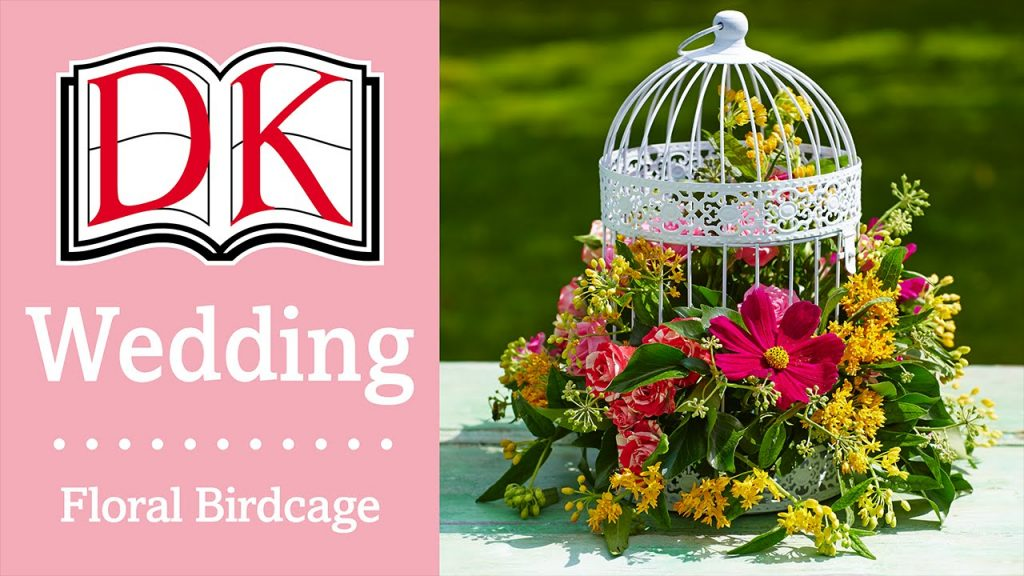 Wedding Decorations Floral Birdcage Centerpiece Youtube