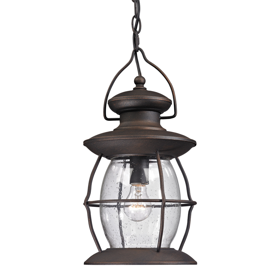 Westmore Lighting Sutters Mill Weathered Charcoal Single