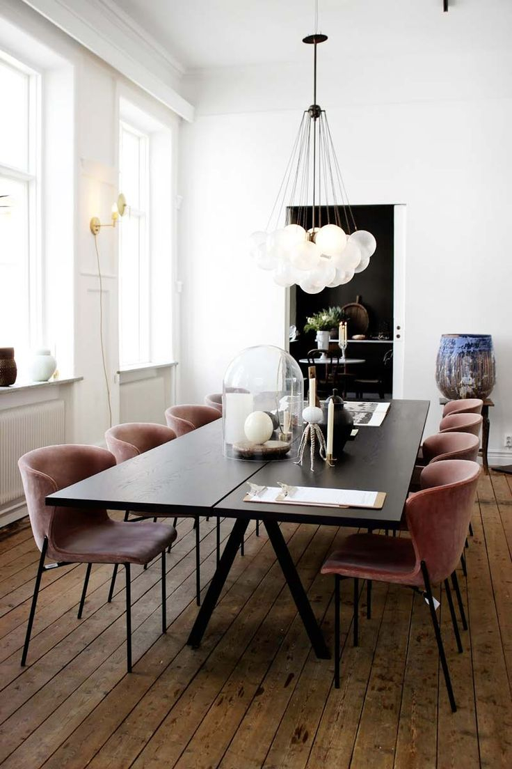 Whats Hot On Pinterest Contemporary Dining Room Dining Room
