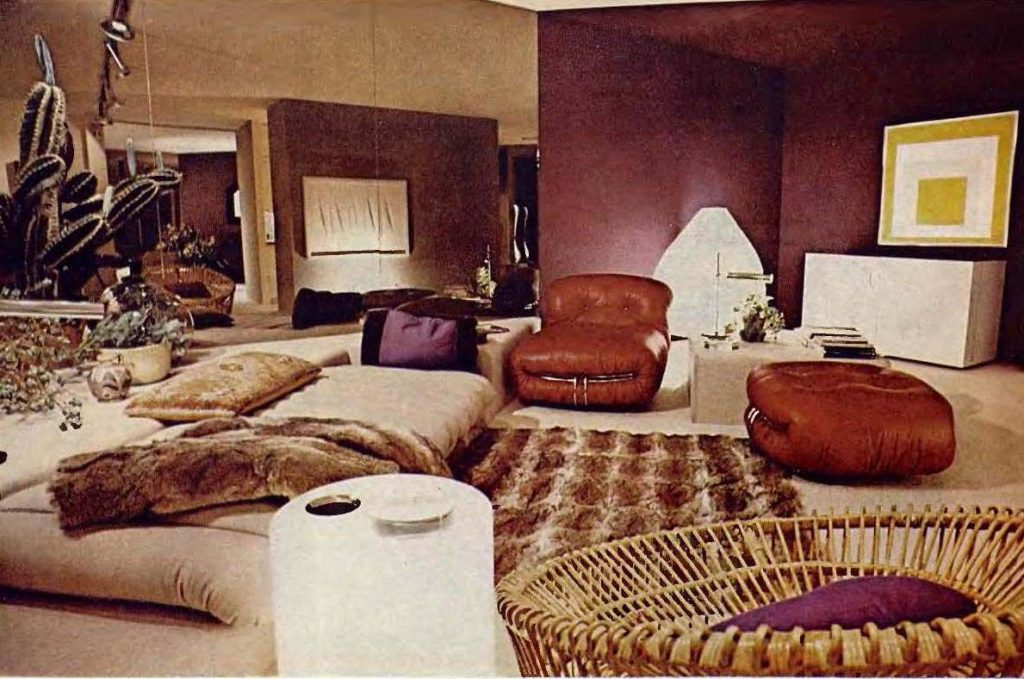When Living Rooms Went Brown Earth Toning Of American Homes In