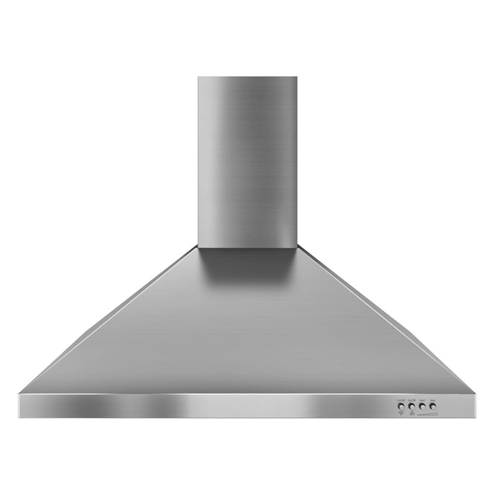Whirlpool Gold 30 In Convertible Wall Mount Range Hood In Stainless