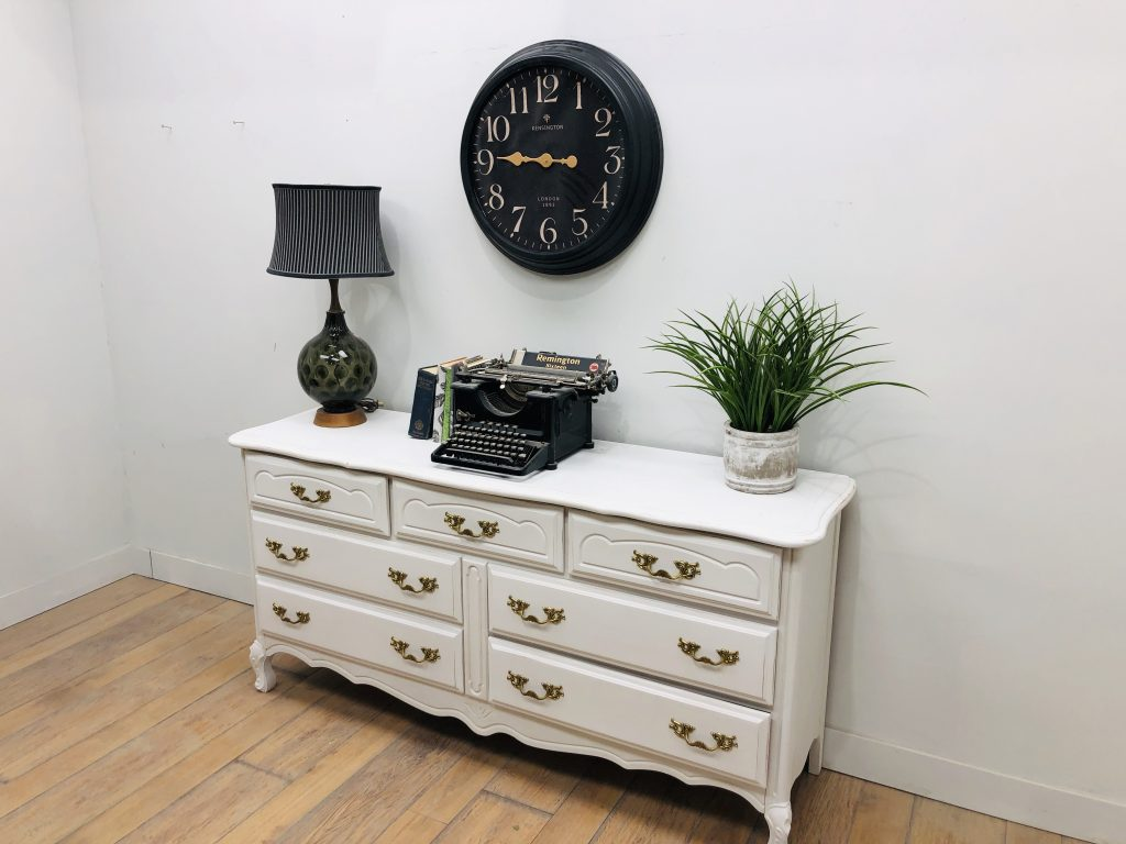 White Gold French Country Dresser The Up Project