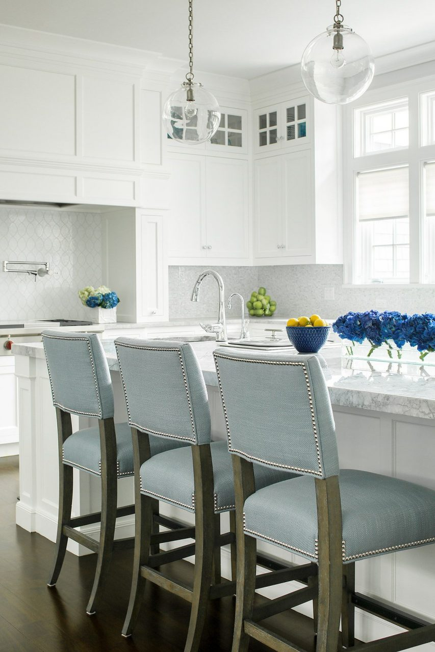 White On White Kitchen Ba Blue Pop Jem Cabinetry My Work