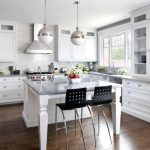 White Shaker Kitchen Cabinets Wood