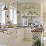 Small White Cottage Kitchen Ideas