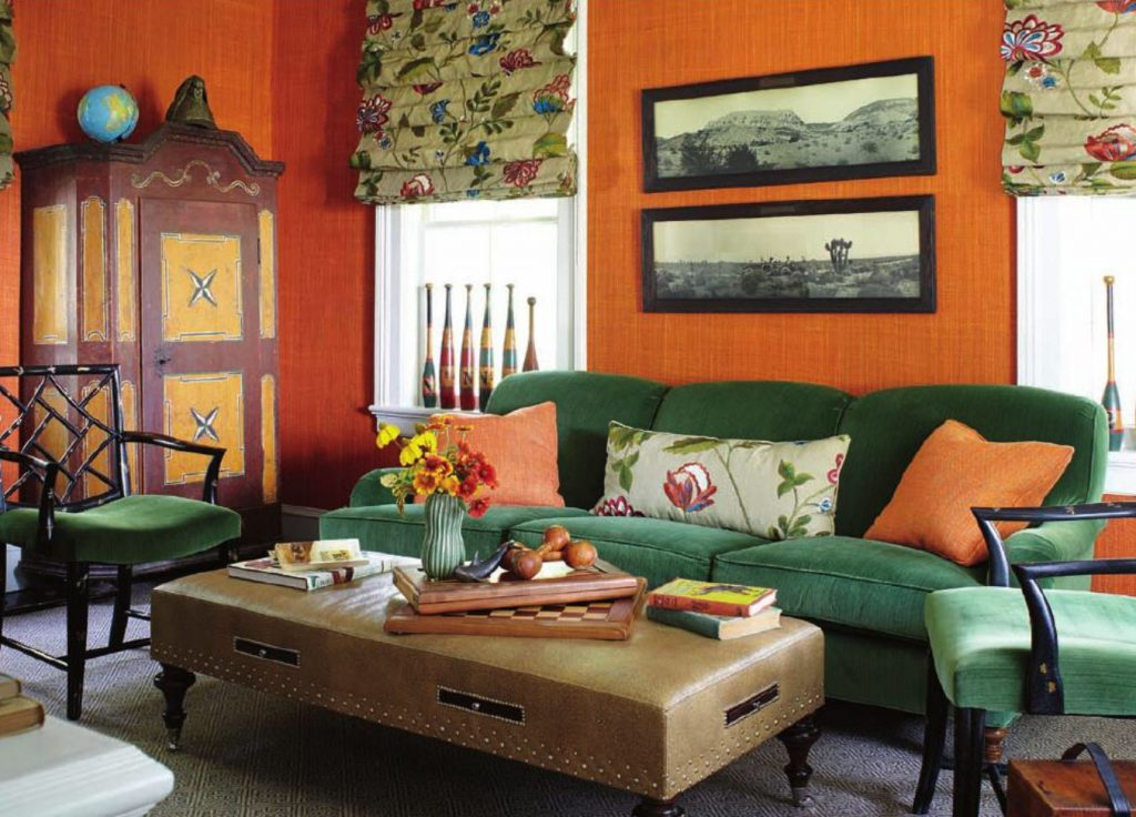 10 Decorating Ideas Grey Orange And Green Living Room Collections