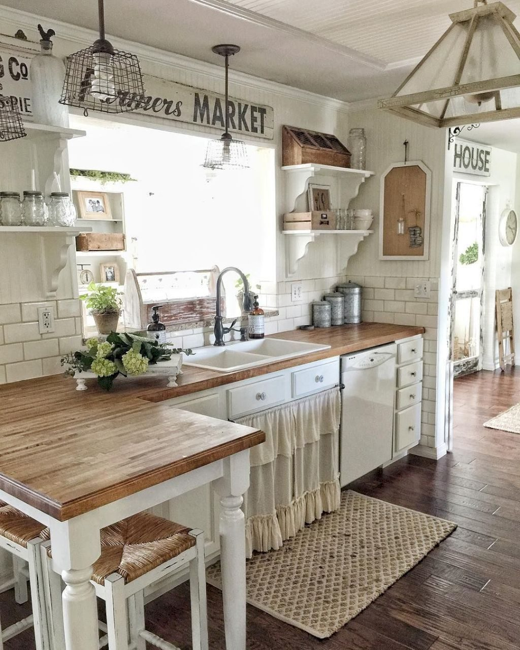 19 Best Rustic Farmhouse Kitchen Cabinets Ideas Kitchen