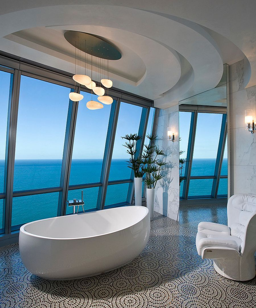 20 Luxurious Bathrooms With A Scenic View Of The Ocean Bitchin