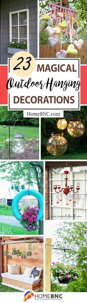 23 Best Outdoor Hanging Decoration Ideas And Designs For 2019