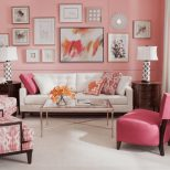 25 Pink Living Room Ideas Photos