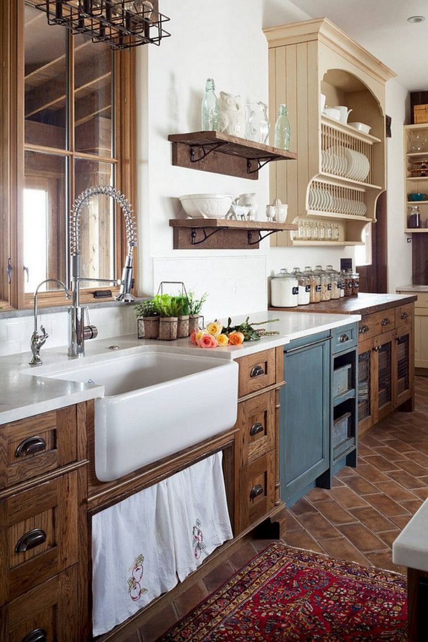 28 Totally Inspiring Rustic Farmhouse Kitchen Ideas Kitchenholic