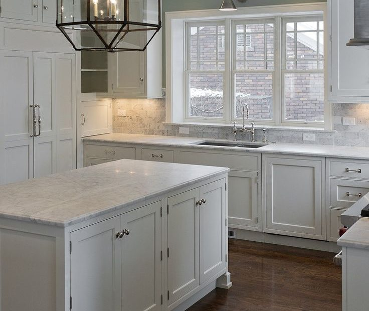 30 Spectacular White Kitchens With Dark Wood Floors Give Me That