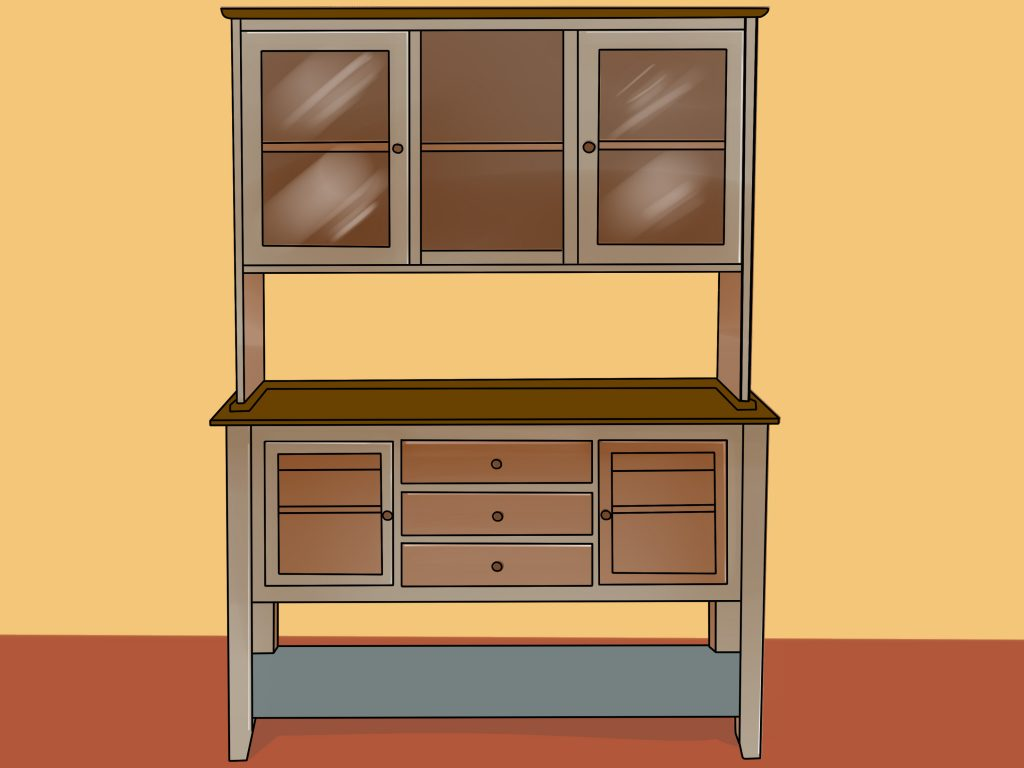 4 Ways To Decorate A Dining Room Hutch Wikihow
