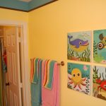 Kids Bathroom Wall Decorating Ideas