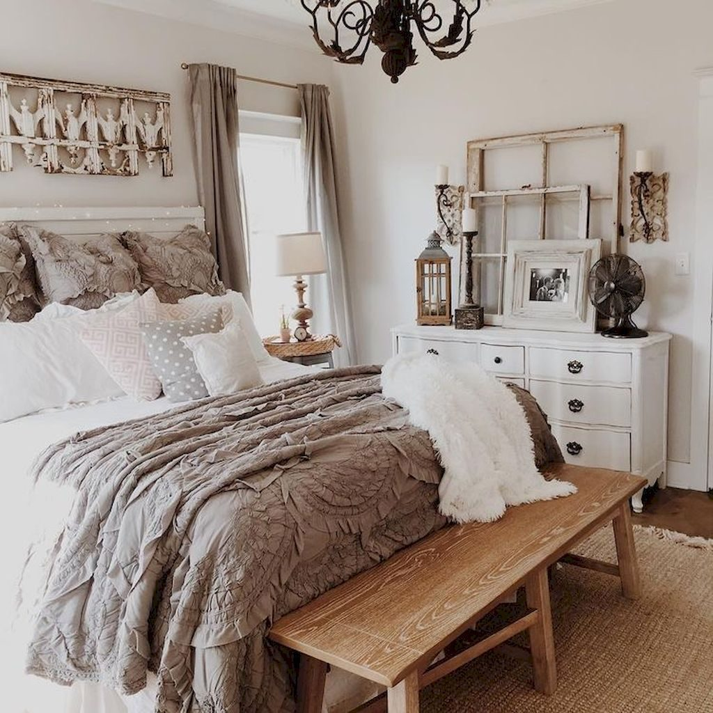 42 Luxury Master Bedroom Ideas Rustic Romantic Country Wwwsawoc