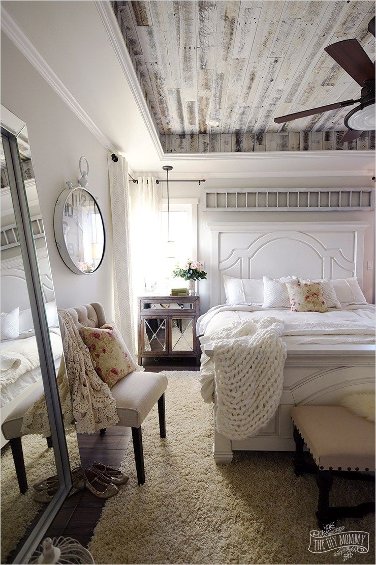 43 Stunning Country Farmhouse Bedroom Ideas That Will Impress You