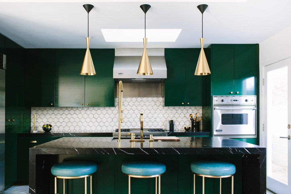5 Of The Most Inspiring Colorful Kitchens Nonagonstyle