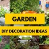 Pinterest DIY Garden Decoration Ideas