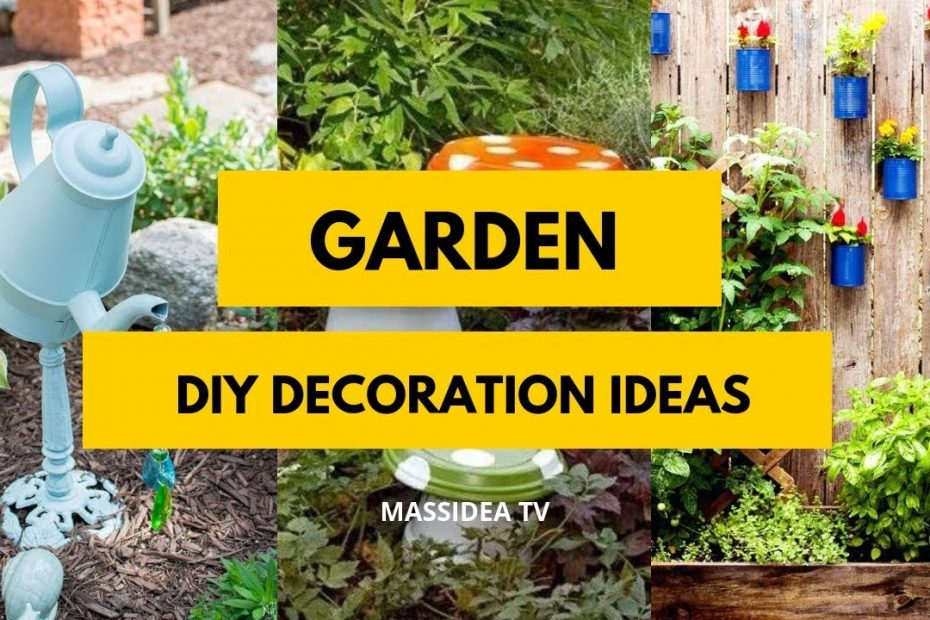 50 Amazing Diy Garden Decoration Ideas From Pinterest
