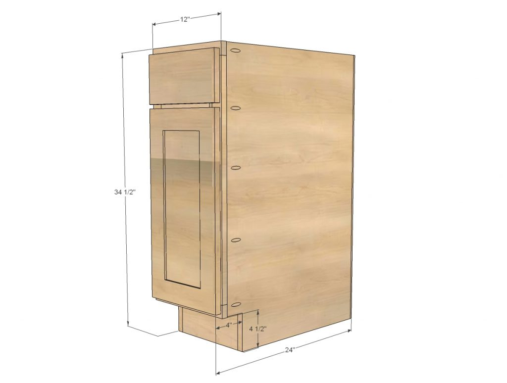 54 Standard Cabinet Dimensions Standard Kitchen Cupboard Depth Uk