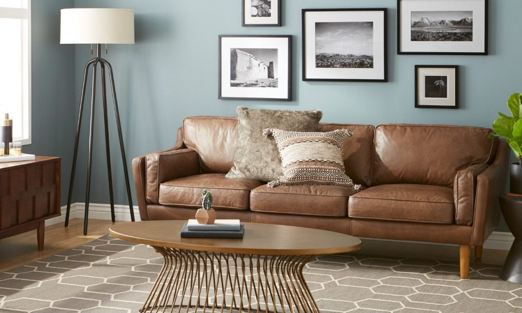 6 Steps For Cleaning A Leather Sofa Overstock