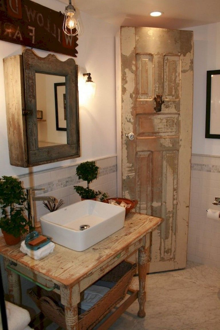 65 Staggering Shab Chic Bathroom Decor Ideas Bathroom Rustic