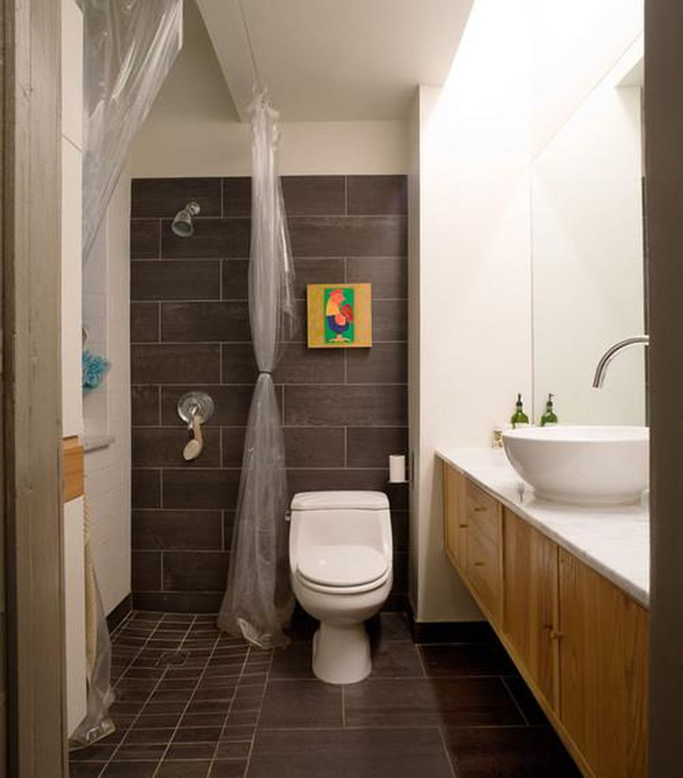 9 Big Ways With Small Bathrooms