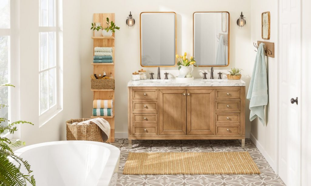 9 Small Bathroom Storage Ideas That Cut The Clutter Overstock