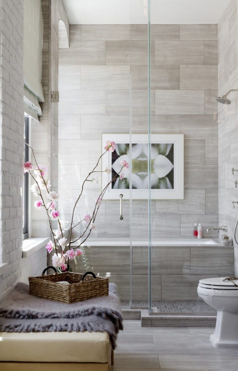 99 Small Bathroom Tub Shower Combo Remodeling Ideas 14 Modern
