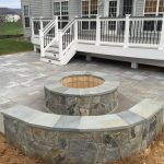 Deck with Paver Patio Designs