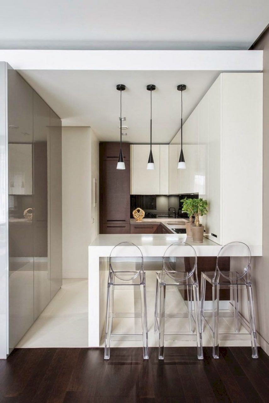 A Guide To Efficient Small Kitchen Design For Apartment Kitchen