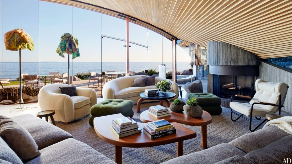 A John Lautner Beach House In Malibu Is Revitalized Architectural