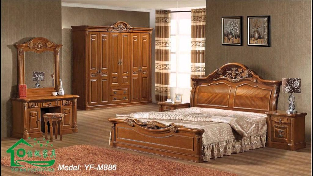 All Wood Bedroom Furniture Sets