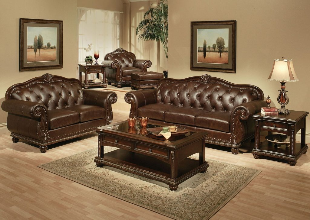 Anondale Espresso Living Room Set 1stopbedrooms
