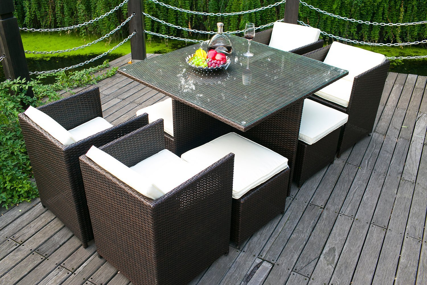 Ansprechend Modern Outdoor Patio Dining Sets Costco Round Bar Layjao