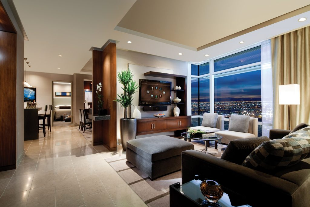 Aria Sky Suites 2060 Square Foot 2 Bedroom Penthouse Suite Is The