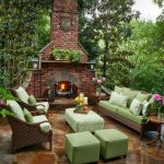 Patio Fireplace Design Ideas