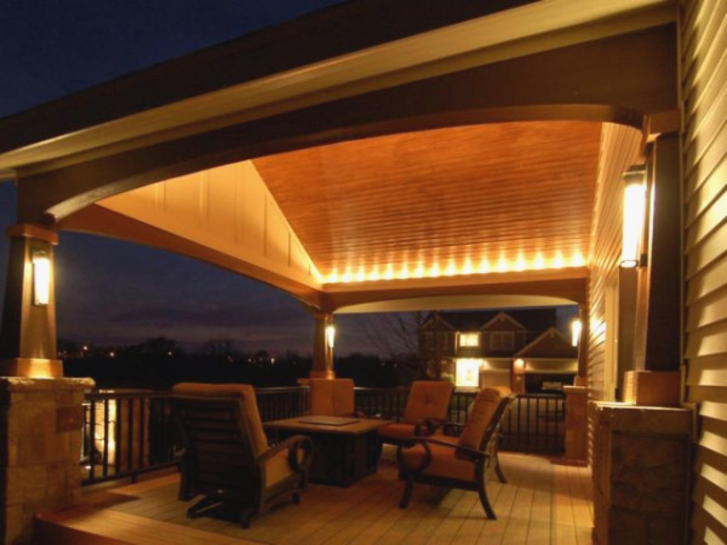 Awesome Patio Deck Lighting Ideas And Outdoor Patio Lighting String