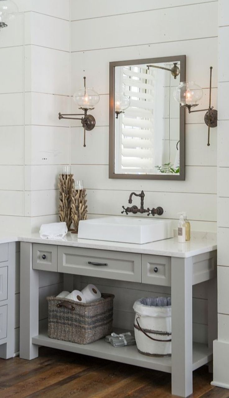 Beautiful Shiplap Bathroom Bathroom Grey Bathrooms Shiplap