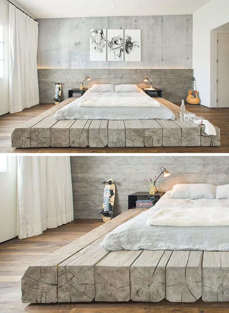 Bedroom Design Idea Place Your Bed On A Raised Platform Stuff To