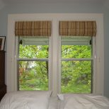 Before And After Bedroom Roman Shade A Little Design Help