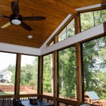 Before And After Pics Of Ez Breeze Porch And Deck With Fireplace
