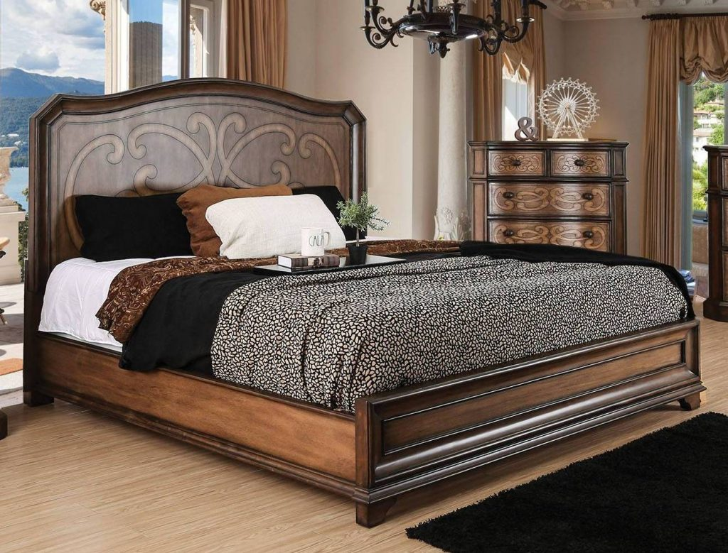 Bemerkenswert Wood Headboards Queen Bed Bath Antique Rails Headboard