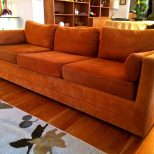 Best Burnt Orange Sofas Sofa Ideas Couch Covers Living Room Modern