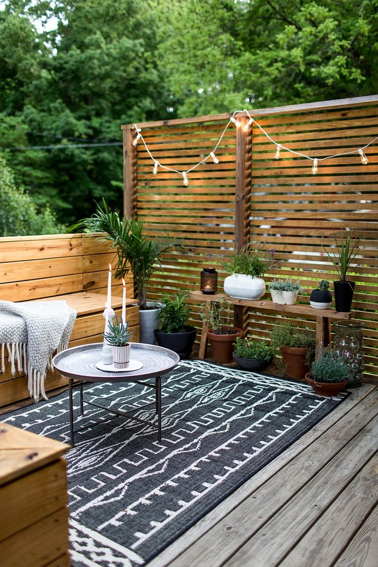Best Small Outdoor Spaces Ideas On Garden Cool Decorating Design And