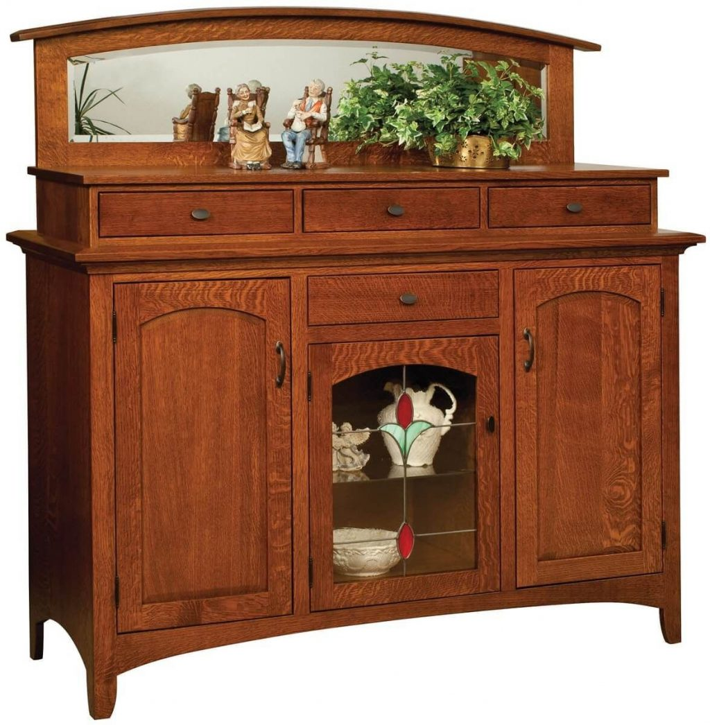 Bethany Dining Buffet With Backsplash Countryside Amish Furniture